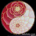 Фото эскизы тату камелия от 18.09.2018 №003 - sketches of camellia tattoos - tatufoto.com
