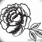 Фото эскизы тату камелия от 18.09.2018 №005 - sketches of camellia tattoos - tatufoto.com
