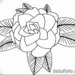 Фото эскизы тату камелия от 18.09.2018 №017 - sketches of camellia tattoos - tatufoto.com