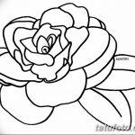 Фото эскизы тату камелия от 18.09.2018 №022 - sketches of camellia tattoos - tatufoto.com