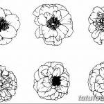 Фото эскизы тату камелия от 18.09.2018 №030 - sketches of camellia tattoos - tatufoto.com