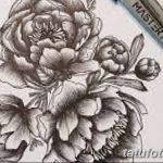 Фото эскизы тату камелия от 18.09.2018 №033 - sketches of camellia tattoos - tatufoto.com