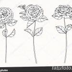 Фото эскизы тату камелия от 18.09.2018 №035 - sketches of camellia tattoos - tatufoto.com