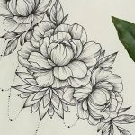Flower Bunch Tattoo Sketch 231 Best Tattoo Images On Pinterest |