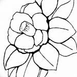 Фото эскизы тату камелия от 18.09.2018 №041 - sketches of camellia tattoos - tatufoto.com
