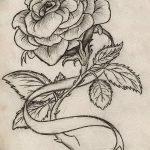 Фото эскизы тату камелия от 18.09.2018 №042 - sketches of camellia tattoos - tatufoto.com