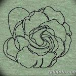Фото эскизы тату камелия от 18.09.2018 №045 - sketches of camellia tattoos - tatufoto.com