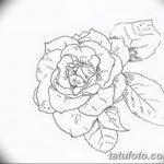 Фото эскизы тату камелия от 18.09.2018 №047 - sketches of camellia tattoos - tatufoto.com