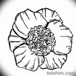 Фото эскизы тату камелия от 18.09.2018 №048 - sketches of camellia tattoos - tatufoto.com