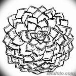 Фото эскизы тату камелия от 18.09.2018 №049 - sketches of camellia tattoos - tatufoto.com
