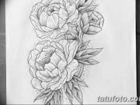 Фото эскизы тату камелия от 18.09.2018 №059 - sketches of camellia tattoos - tatufoto.com