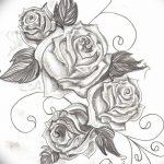 Фото эскизы тату камелия от 18.09.2018 №063 - sketches of camellia tattoos - tatufoto.com