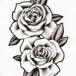 Фото эскизы тату камелия от 18.09.2018 №069 - sketches of camellia tattoos - tatufoto.com
