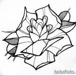 Фото эскизы тату камелия от 18.09.2018 №070 - sketches of camellia tattoos - tatufoto.com