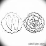 Фото эскизы тату камелия от 18.09.2018 №074 - sketches of camellia tattoos - tatufoto.com