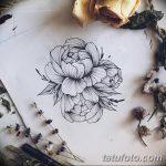 Фото эскизы тату камелия от 18.09.2018 №075 - sketches of camellia tattoos - tatufoto.com