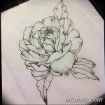 Фото эскизы тату камелия от 18.09.2018 №080 - sketches of camellia tattoos - tatufoto.com