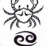 Фото эскизы тату краб рак от 11.09.2018 №003 - sketching tattoo crab cancer - tatufoto.com