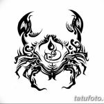 Фото эскизы тату краб рак от 11.09.2018 №007 - sketching tattoo crab cancer - tatufoto.com