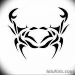 Фото эскизы тату краб рак от 11.09.2018 №019 - sketching tattoo crab cancer - tatufoto.com