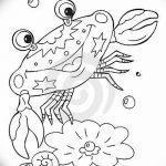 Фото эскизы тату краб рак от 11.09.2018 №020 - sketching tattoo crab cancer - tatufoto.com