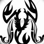 Фото эскизы тату краб рак от 11.09.2018 №027 - sketching tattoo crab cancer - tatufoto.com
