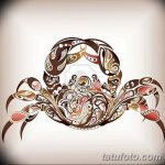 Фото эскизы тату краб рак от 11.09.2018 №036 - sketching tattoo crab cancer - tatufoto.com