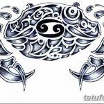 Фото эскизы тату краб рак от 11.09.2018 №039 - sketching tattoo crab cancer - tatufoto.com