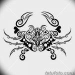 Фото эскизы тату краб рак от 11.09.2018 №041 - sketching tattoo crab cancer - tatufoto.com