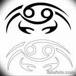 Фото эскизы тату краб рак от 11.09.2018 №069 - sketching tattoo crab cancer - tatufoto.com