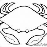 Фото эскизы тату краб рак от 11.09.2018 №072 - sketching tattoo crab cancer - tatufoto.com