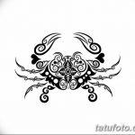 Фото эскизы тату краб рак от 11.09.2018 №074 - sketching tattoo crab cancer - tatufoto.com