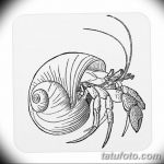 Фото эскизы тату краб рак от 11.09.2018 №076 - sketching tattoo crab cancer - tatufoto.com