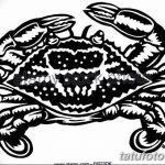 Фото эскизы тату краб рак от 11.09.2018 №079 - sketching tattoo crab cancer - tatufoto.com
