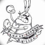 Фото эскизы тату краб рак от 11.09.2018 №086 - sketching tattoo crab cancer - tatufoto.com