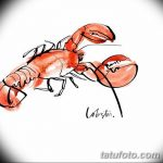 Фото эскизы тату краб рак от 11.09.2018 №092 - sketching tattoo crab cancer - tatufoto.com