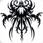 Фото эскизы тату краб рак от 11.09.2018 №097 - sketching tattoo crab cancer - tatufoto.com