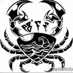 Фото эскизы тату краб рак от 11.09.2018 №099 - sketching tattoo crab cancer - tatufoto.com