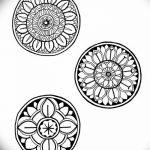 Фото эскизы тату круг от 17.09.2018 №002 - sketching circle tattoo - tatufoto.com