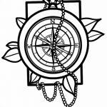 Фото эскизы тату круг от 17.09.2018 №032 - sketching circle tattoo - tatufoto.com