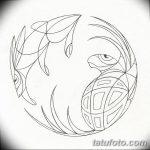 Фото эскизы тату круг от 17.09.2018 №040 - sketching circle tattoo - tatufoto.com