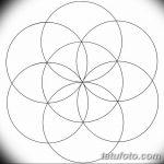 Фото эскизы тату круг от 17.09.2018 №044 - sketching circle tattoo - tatufoto.com