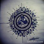 Фото эскизы тату круг от 17.09.2018 №046 - sketching circle tattoo - tatufoto.com