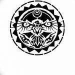 Фото эскизы тату круг от 17.09.2018 №054 - sketching circle tattoo - tatufoto.com