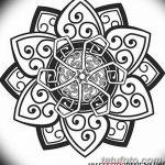 Фото эскизы тату круг от 17.09.2018 №067 - sketching circle tattoo - tatufoto.com