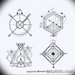 Фото эскизы тату круг от 17.09.2018 №077 - sketching circle tattoo - tatufoto.com