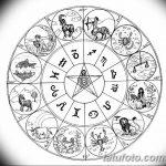 Фото эскизы тату круг от 17.09.2018 №080 - sketching circle tattoo - tatufoto.com