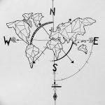 Фото эскизы тату круг от 17.09.2018 №082 - sketching circle tattoo - tatufoto.com