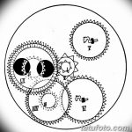 Фото эскизы тату круг от 17.09.2018 №091 - sketching circle tattoo - tatufoto.com