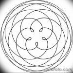 Фото эскизы тату круг от 17.09.2018 №101 - sketching circle tattoo - tatufoto.com